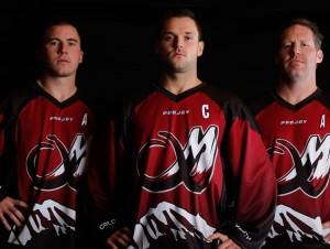 Coates, Grant & Mammoth Captains 2016
