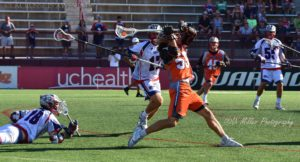 Photo Credit: Di Miller Lacrosse is Awesome Mikie Schlosser Denver Outlaws vs Boston Cannons 8/31/19